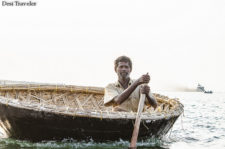 Family Fun in Coracle or Round Boats of Nagarjuna Sagar