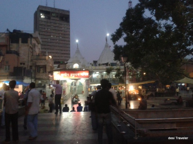 Ancient Hanuman Temple Connaught Place