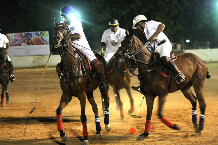 Polo match at Hyderabad Polo and Riding Club