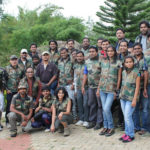 First day of Eco Volunteer Training with Karnataka Forest Department