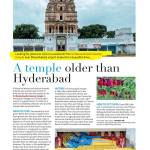 A post by desi Traveler in WOW Hyderabad Magazine