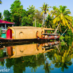 Cruise and Staying on A Houseboat in Backwaters of Kerala