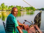 Captain Mohan of Our Houseboat in Alleppey
