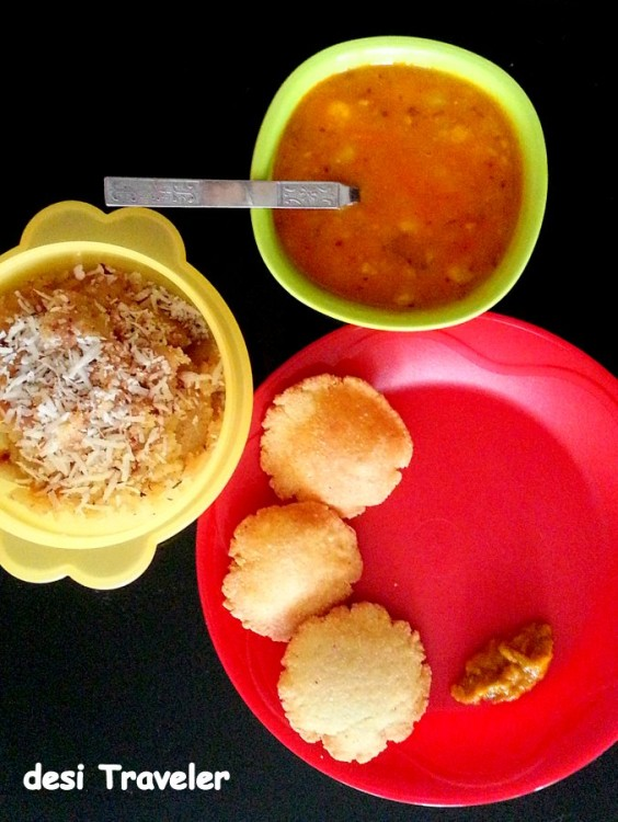 Nagori Subzi and Halwa