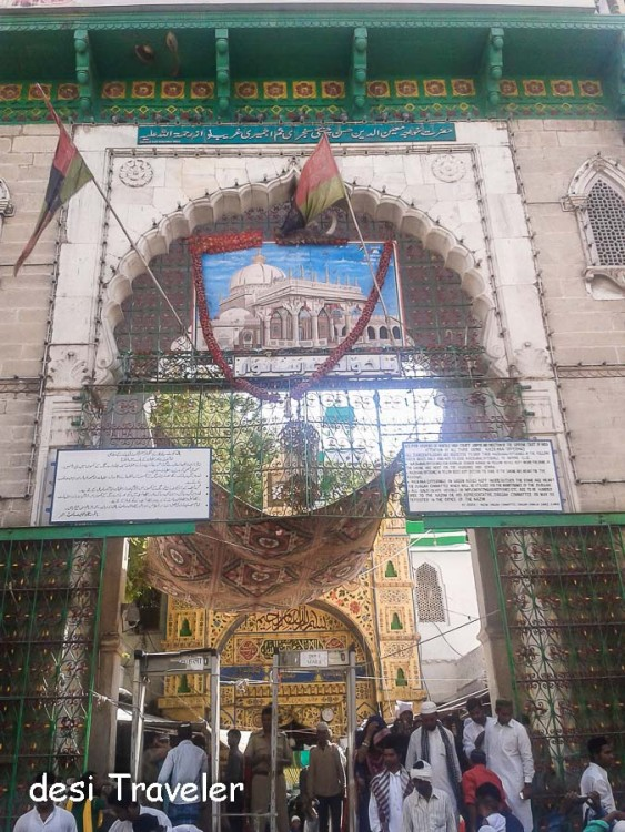 Ajmer Sharif Dargah gate