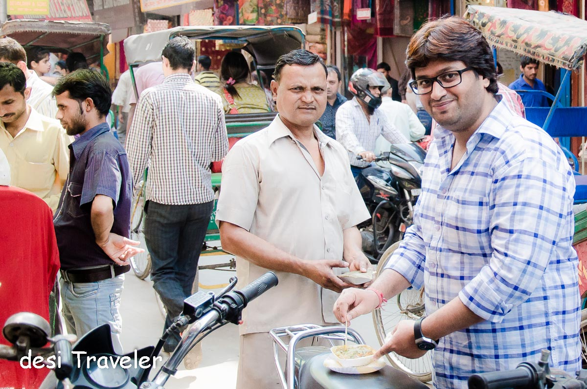 Food Walk Chandni Chowk  Tarun Gaur Greedy Backpack