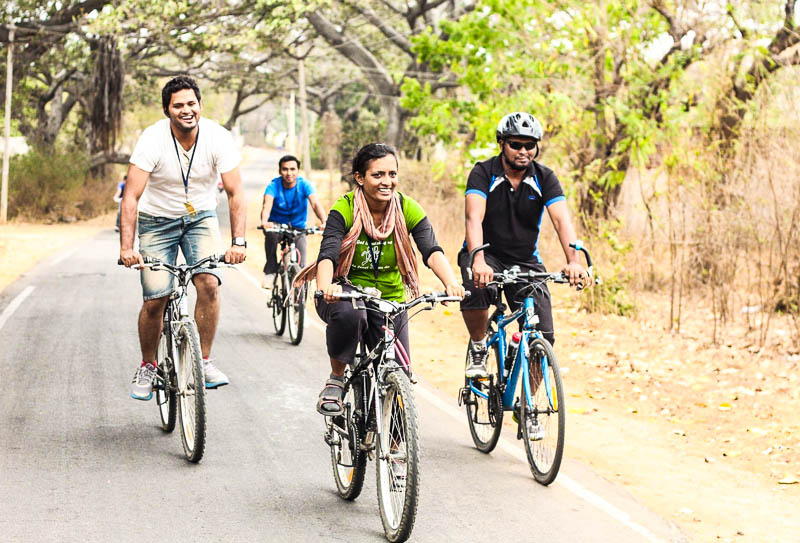 Siri Appaneni Cycling GHAC Hyderabad