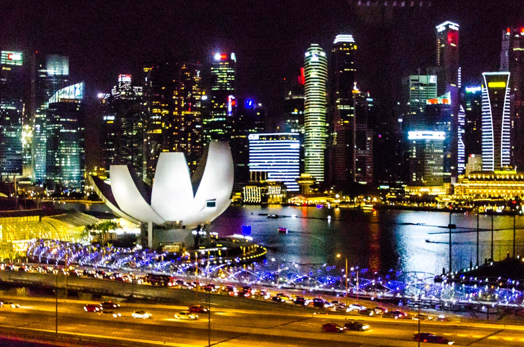 Singapore in night