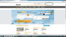 Tigerair website Ticket booking experience