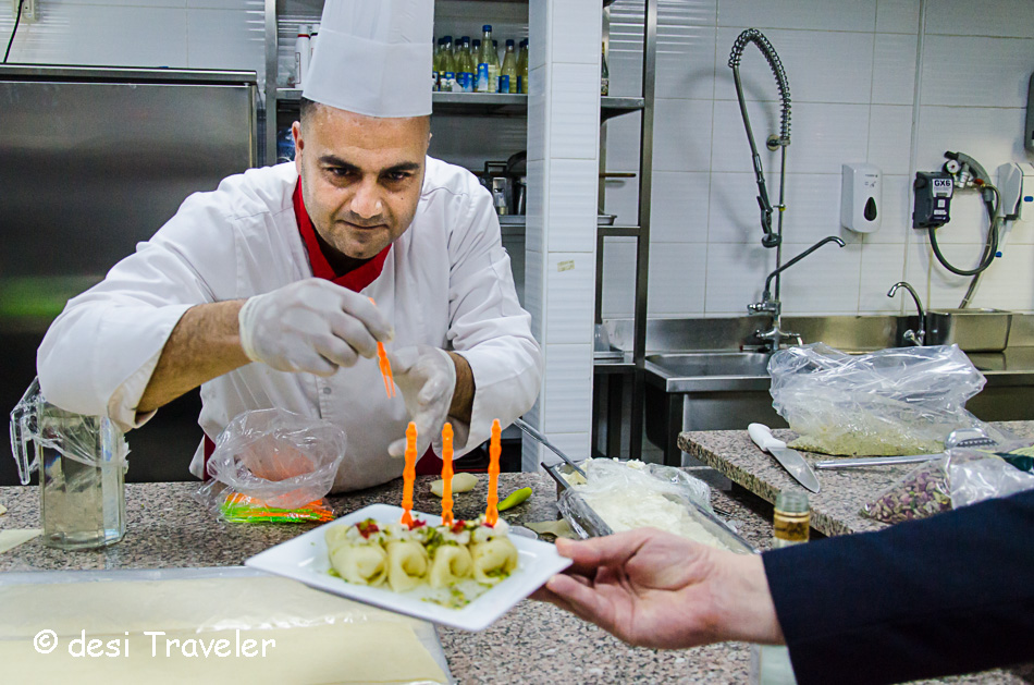 Jordanian food cooking class