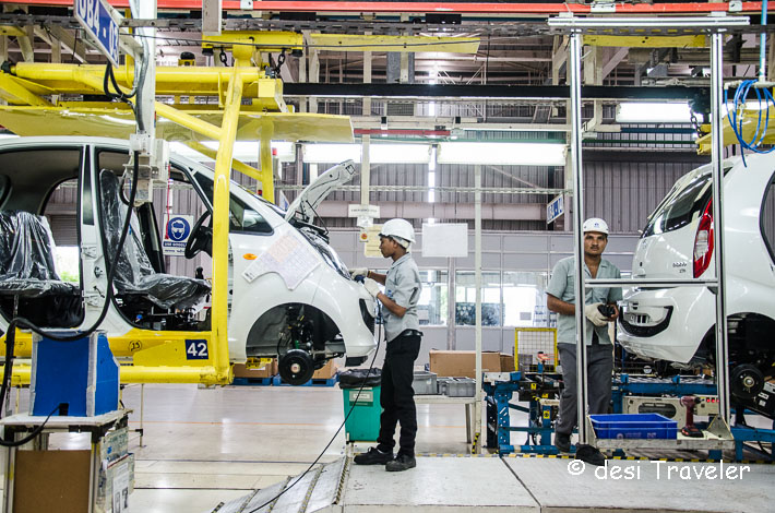 Tata Nano car plant  QC Check