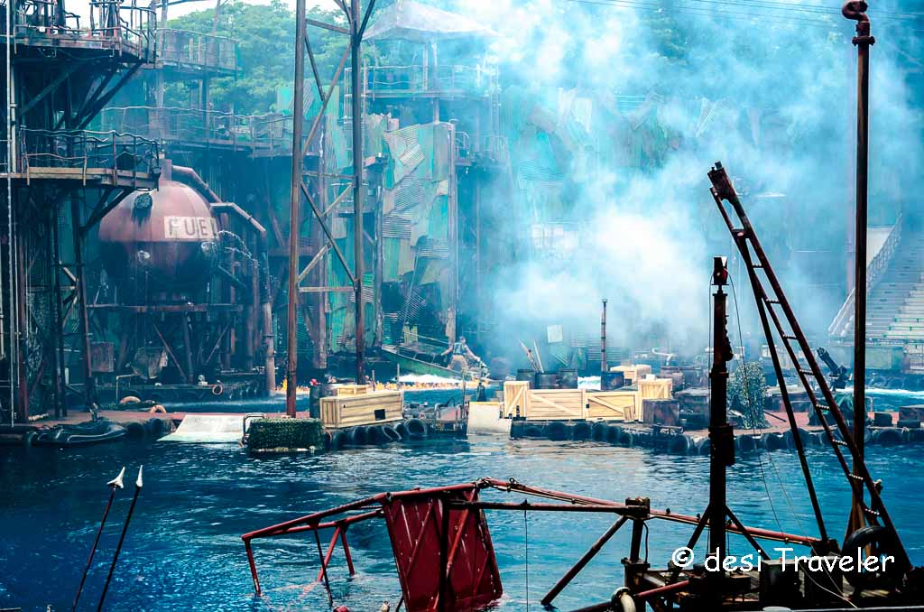 WaterWorld Show Universal Studios Singapore