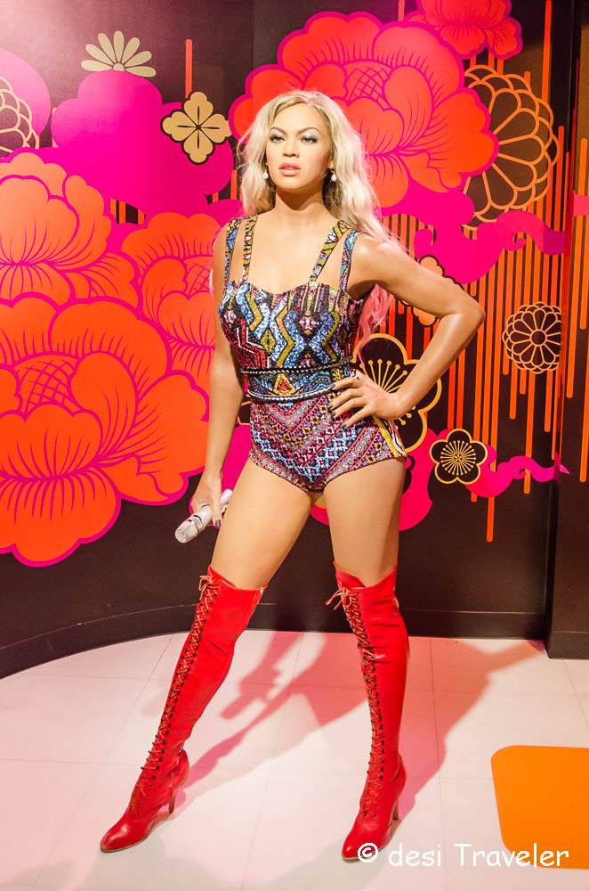 Beyonce Wax Figure Madame Tussauds