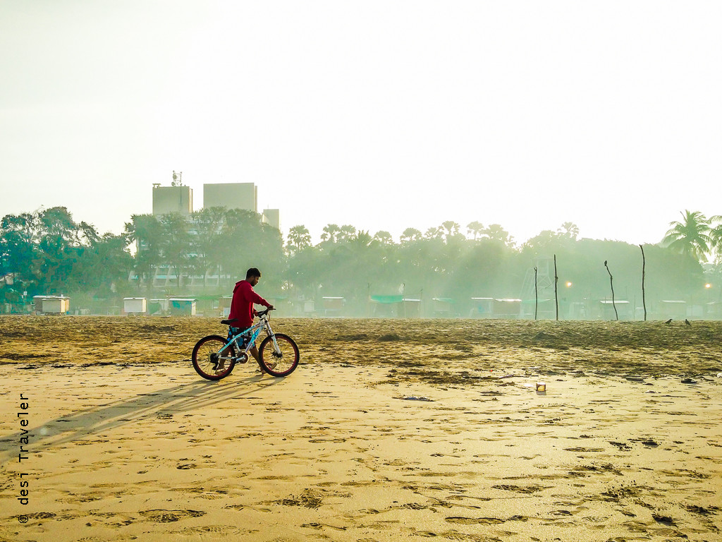 Aksa beach malad cycling