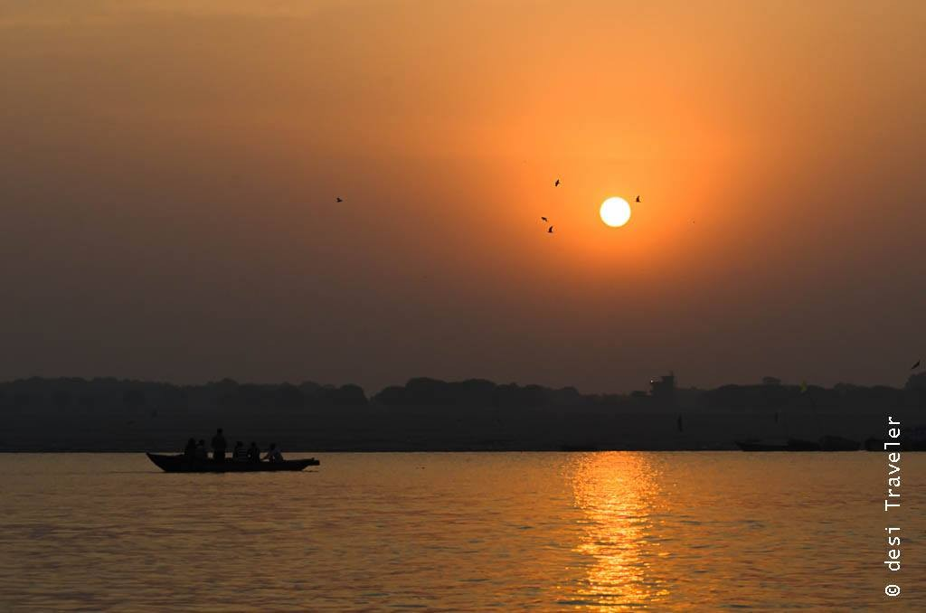 Varanasi sunrise boat ride