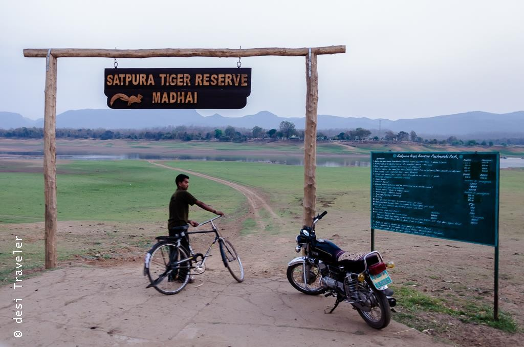 Satpura National Park Entry