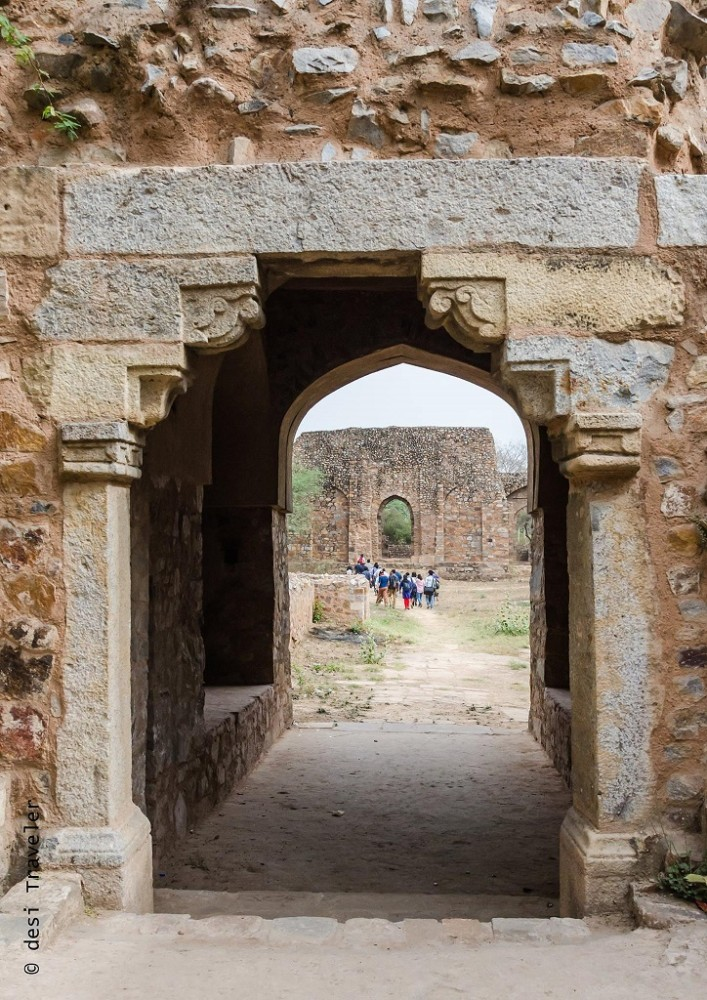 Mehrauli Archaeological Park - True Arch