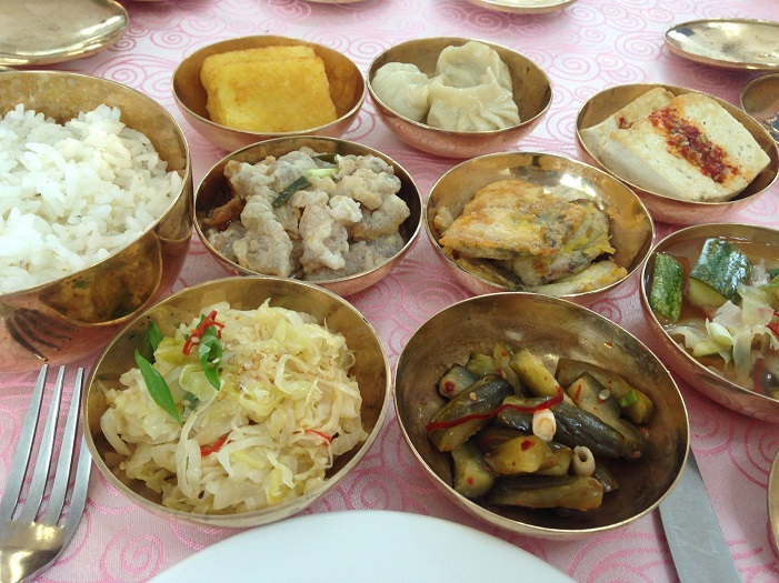 north korean food
