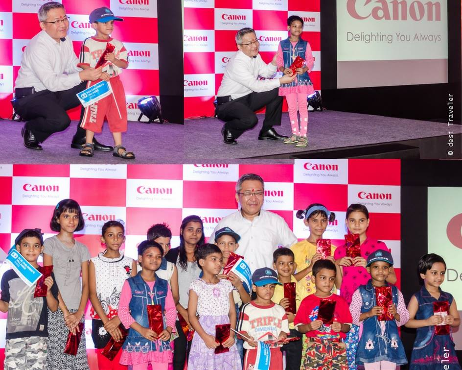 Kazutada Kobayashi, President & CEO of Canon India at SOS Children's Village India (2)