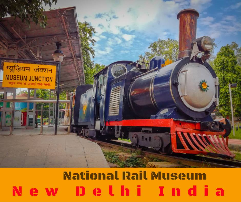 Toy Train National Rail Museum Delhi