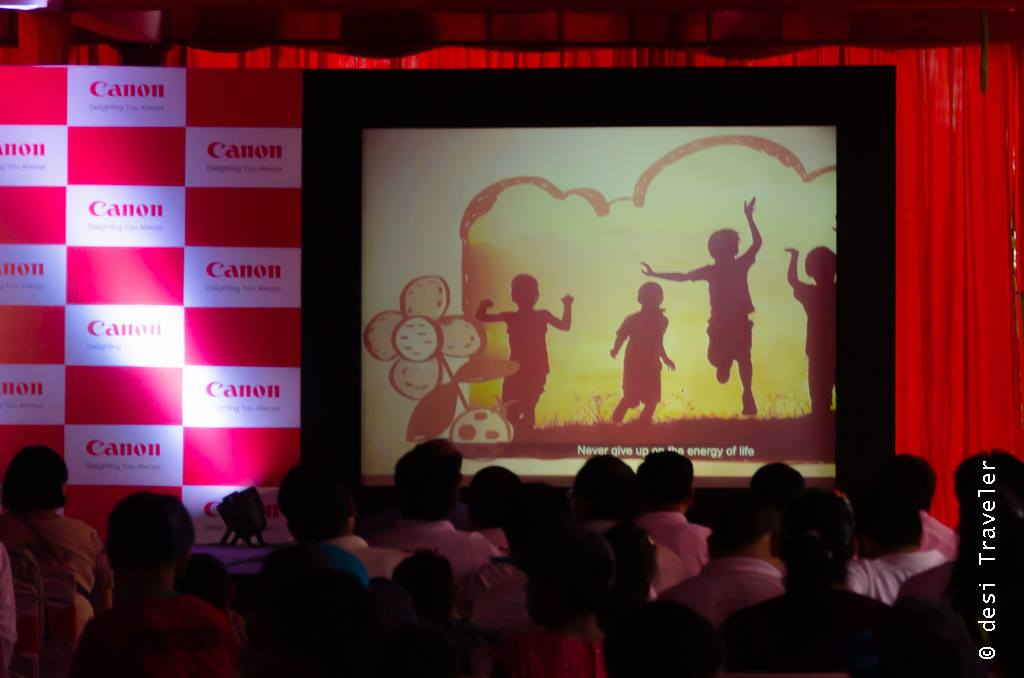 Canon India CSR program with SOS Village India