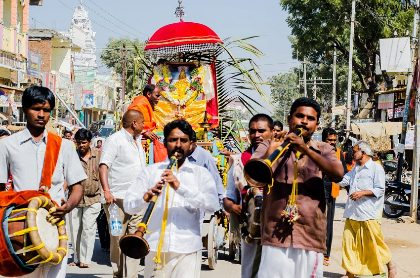 Rath Yatra in Telangana Village Pochampally