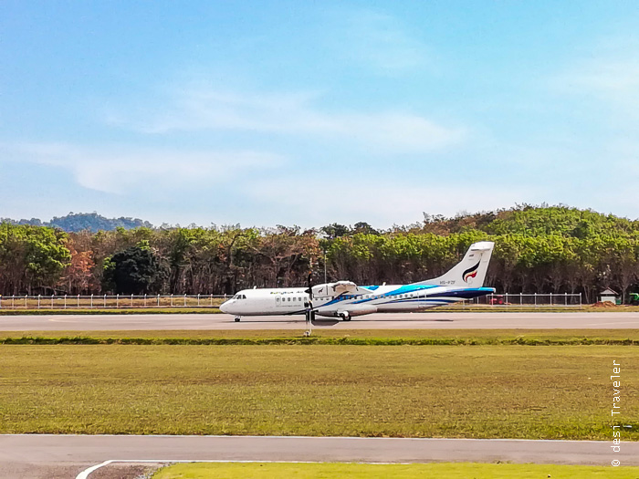 ATR 72 Bangkok Airways TRAT Airport