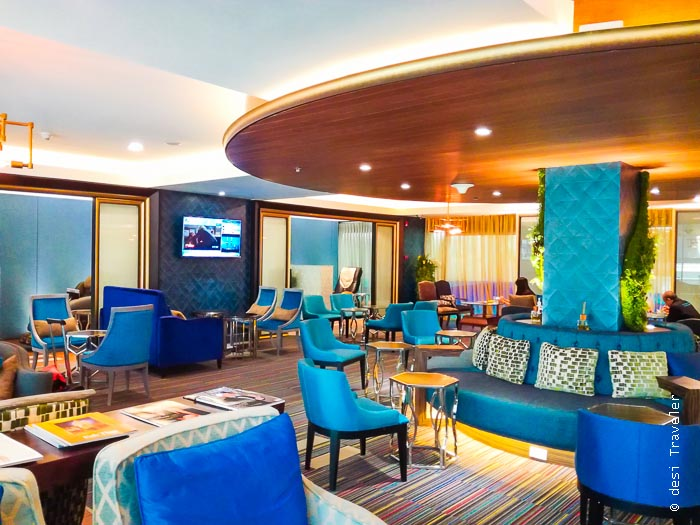 Blue Ribbon Club - Premium Lounge of Bangkok Airways at Suvarnabhumi Airport