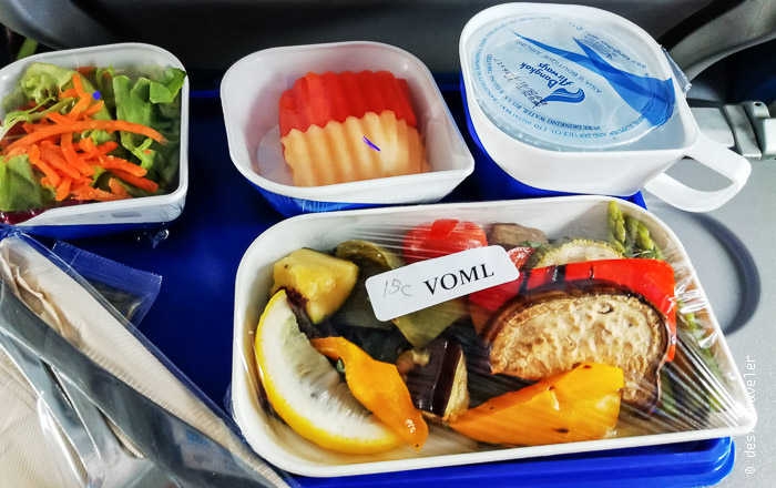 Vegetarian Meal Bangkok Airways