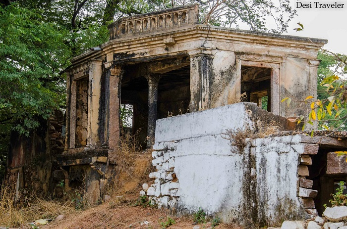 Ruins from Nizam Era Nanakramguda Village