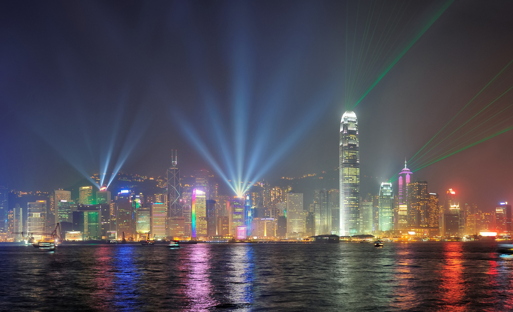 Hong Kong Light and sound show