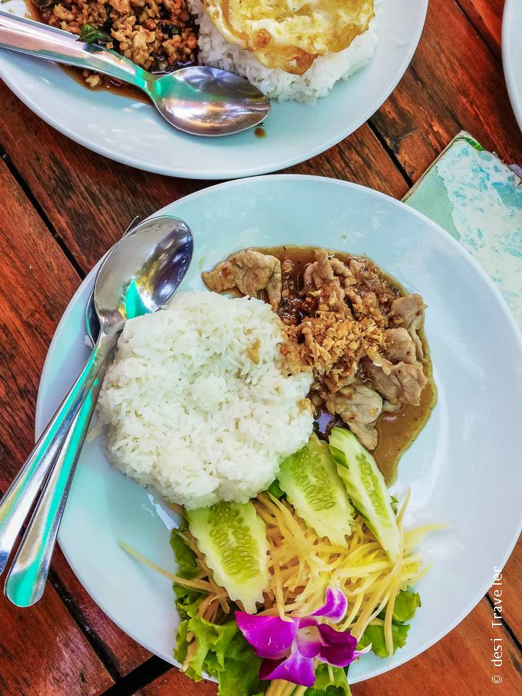 Thai pork dish