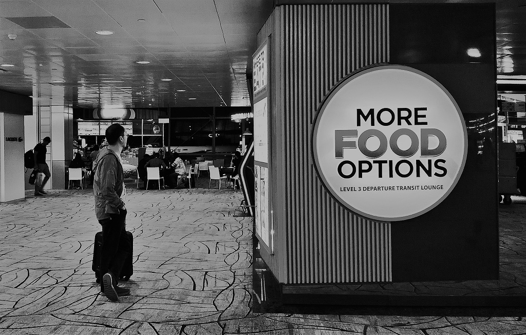 Street Photography Changi Airport