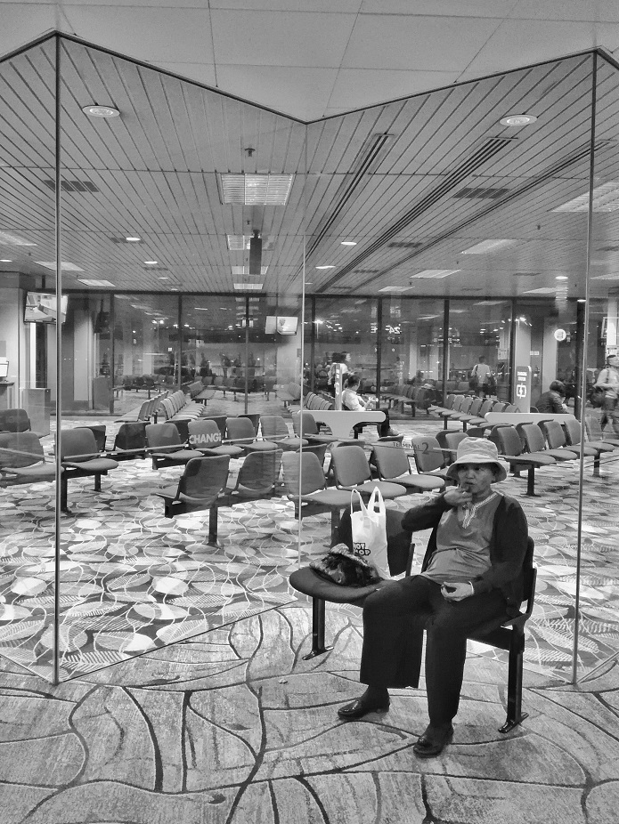 The Solo Woman Traveler Changi Airport Singapore