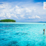 November 2017 Calendar Desktop Wallpaper- Pasir Timbul Magic Beach Raja Ampat Indonesia