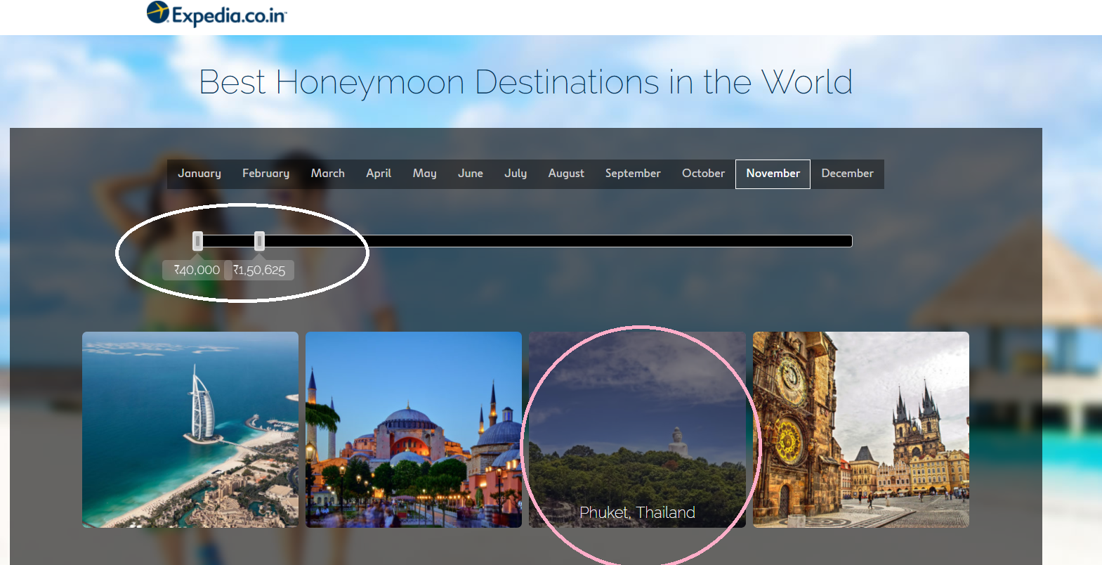 Best Honeymoon Destinations for Indian Couples