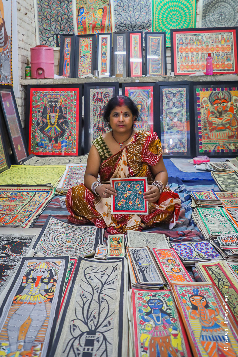 Madhubani Paintings Dilli Haat INA Market