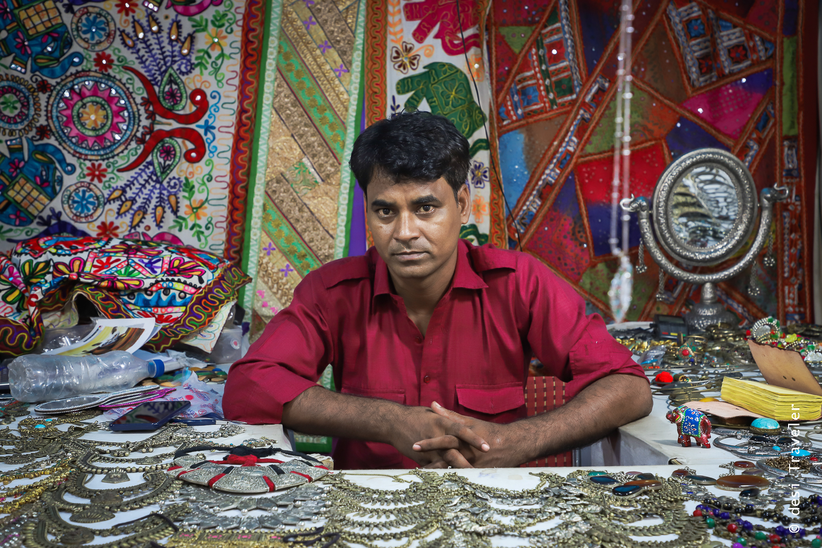 Fake Jewelry shop Dilli Haat INA Market