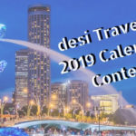 Win 2019 desi Traveler Calendar & 2 Night Stay With Unhotel