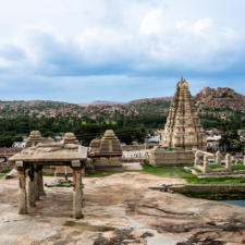 The Sacred Center of Hampi Temple