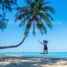 Annual Travel Calendar Contest Alert: Win 2018 desi Traveler Calendar