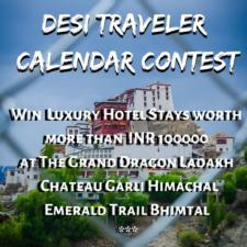 2021 desi Traveler Calendar Winners Announcement