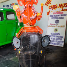 Recycled Ganesha in a Car Museum
