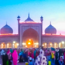 A Ramazan Walk at Jama Masjid Delhi with Navina Jafa