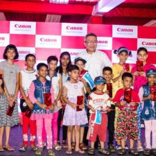 """Support A Life"" – A Canon India CSR initiative, Empowering by active involvement with SOS Children's Villages"