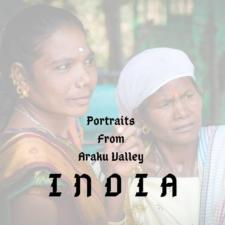 Portraits from Araku Valley Andhra Pradesh