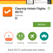 Cleartrip App For Android: Video Review & Step By Step Guide