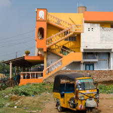 Colors of India: The Homes In Indian Villages & Small Towns