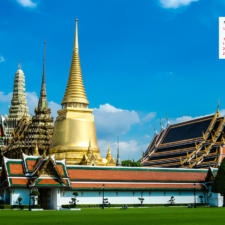 Download November 2016 Desktop Wallpaper Calendar- Grand Palace Bangkok